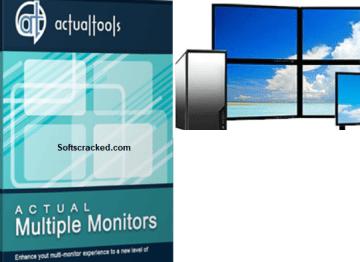 Actual Multiple Monitors Crack 8.14.4 License Key Latest